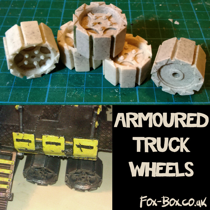 Fox Box Armoured Truck Wheels