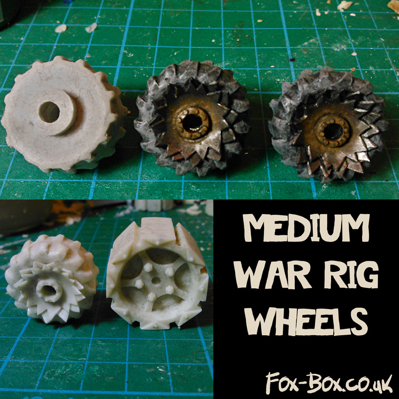 Fox Box Medium War Rig Wheels