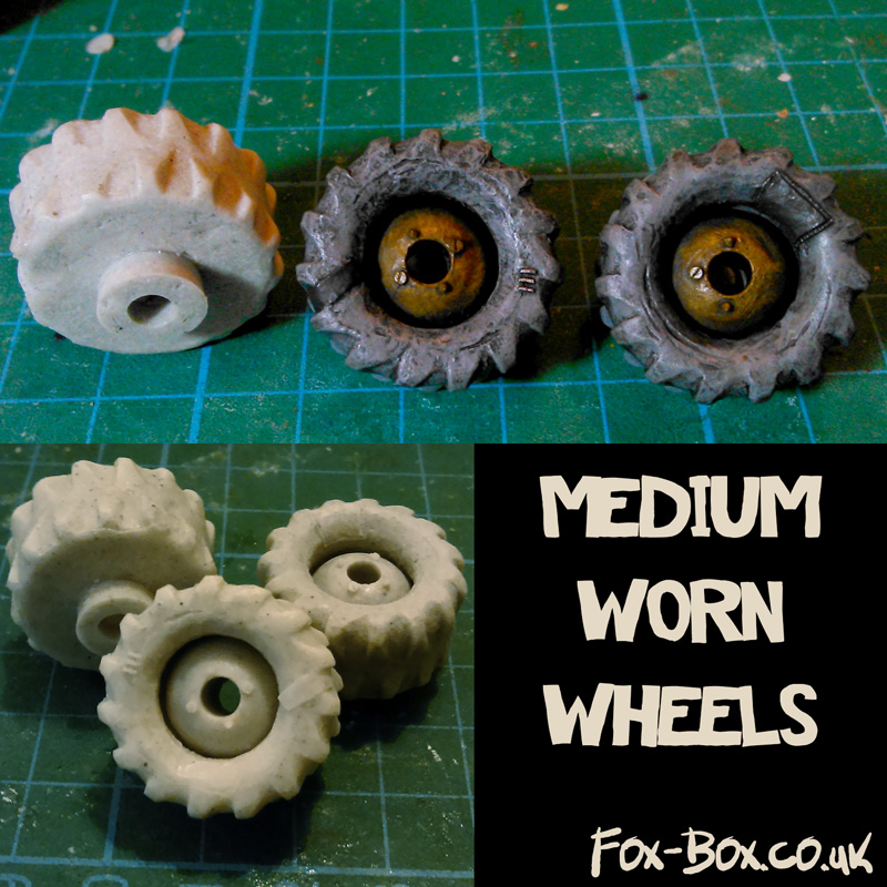 Fox Box Medium Worn Wheels